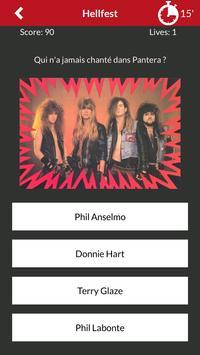 Quiz : Metal / Punk / ... par Metalorgie screenshot 1
