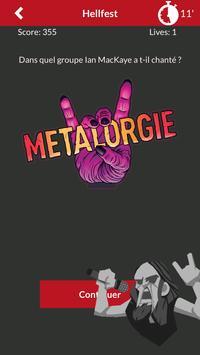 Quiz : Metal / Punk / ... par Metalorgie screenshot 2