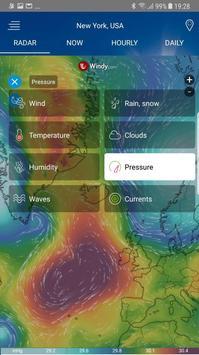 Radar météo capture d'écran 1