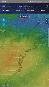 Radar météo capture d'écran 6