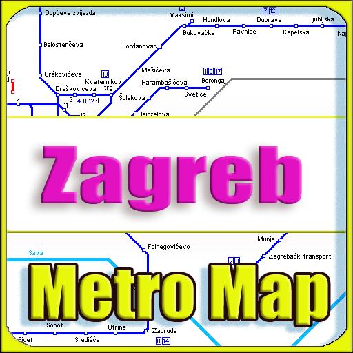 Zagreb Metro Map Offline For Android Apk Download