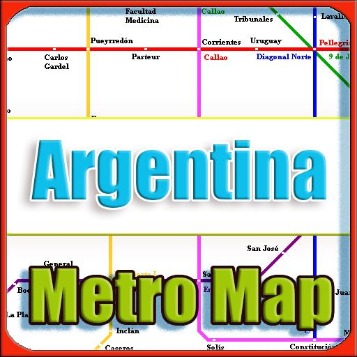 Argentina Subway Map.Argentina Metro Map Offline For Android Apk Download