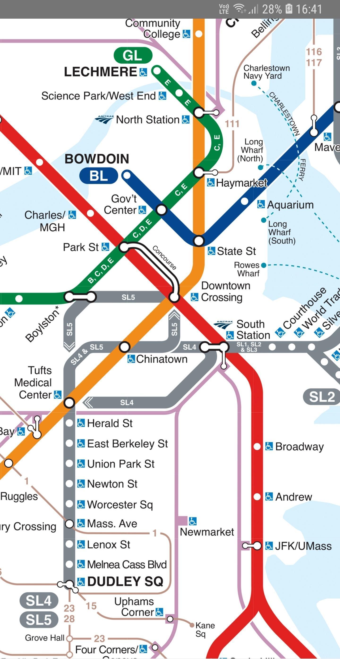 Mbta Subway Map Boston Ma.Boston Ma Metro Map Mbta For Android Apk Download