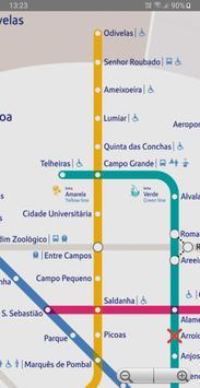 Lisbon Metro poster