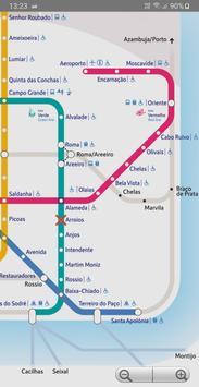 Lisbon Metro screenshot 1