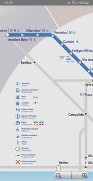 Lisbon Metro screenshot 2