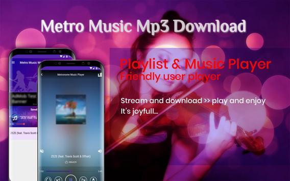 Metro Music Unlimited Free Mp3 Download screenshot 4