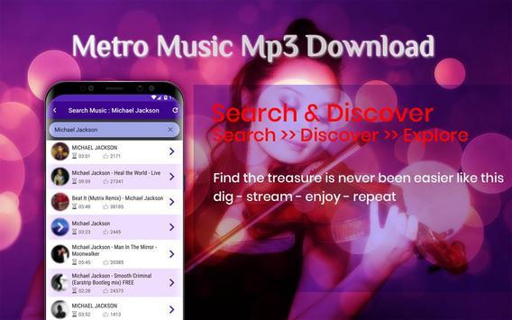Metro Music Unlimited Free Mp3 Download screenshot 2