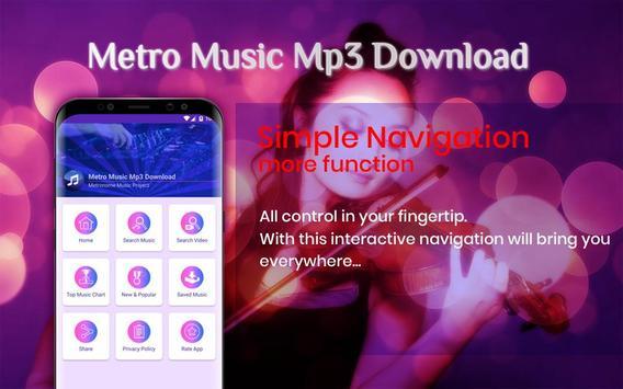 Metro Music Unlimited Free Mp3 Download screenshot 3