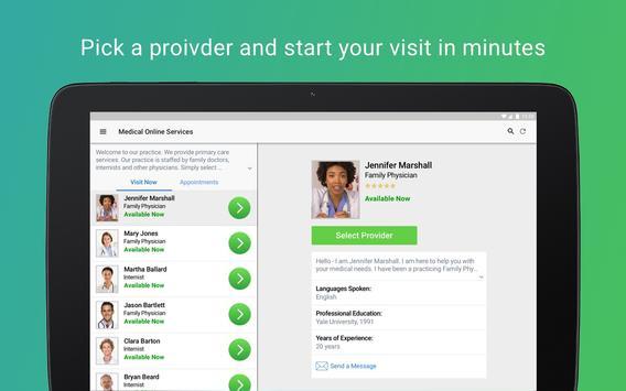 MetroPlus Virtual Visit تصوير الشاشة 10