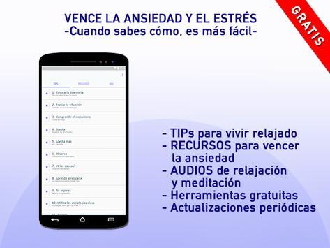Ansiedad y estrés скриншот 3
