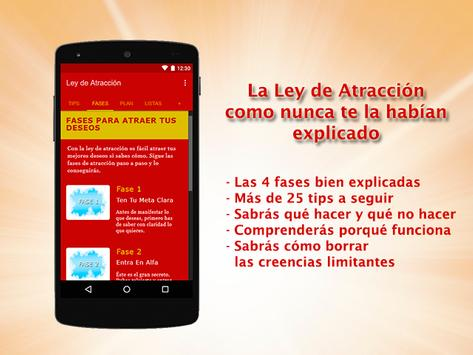 Ley de Atracción скриншот 1