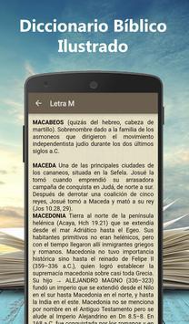 Diccionario Bíblico Ilustrado screenshot 3