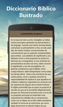 Diccionario Bíblico Ilustrado screenshot 7
