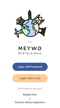 Meywo: Bucket List Map & Adventure Trip Planner poster