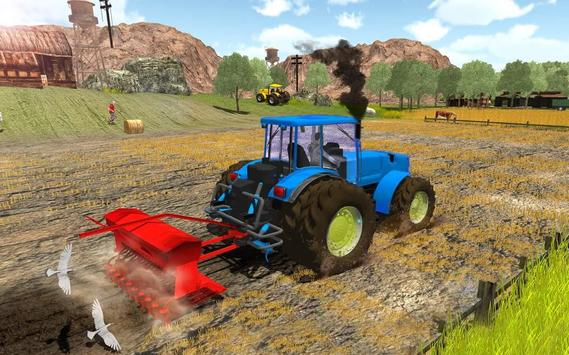 Tractor Driver Field Crop Agri Farm 2019 poster