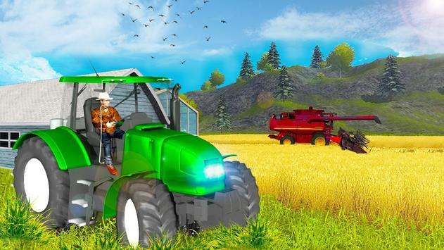 Tractor Driver Field Crop Agri Farm 2019 screenshot 1