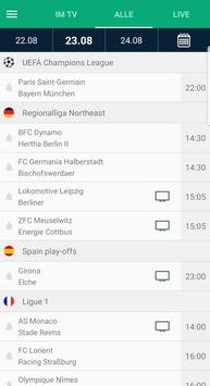 Fußball im TV Screenshot 2