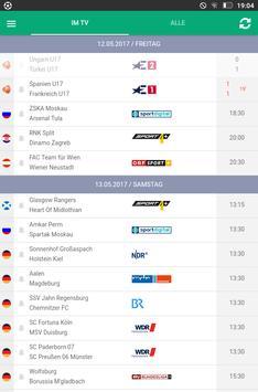 Fußball im TV Screenshot 5