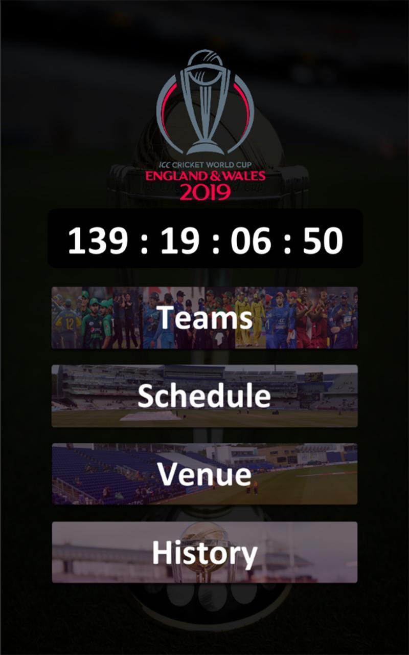 ICC Cricket World Cup 2019 Cricketnews, live scores, fixtures ...
