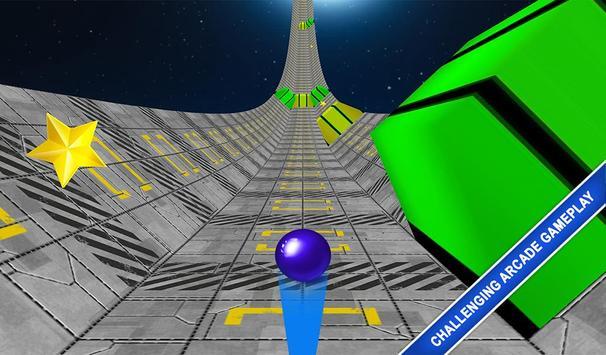 Rolly Sky Ball Vortex Game poster