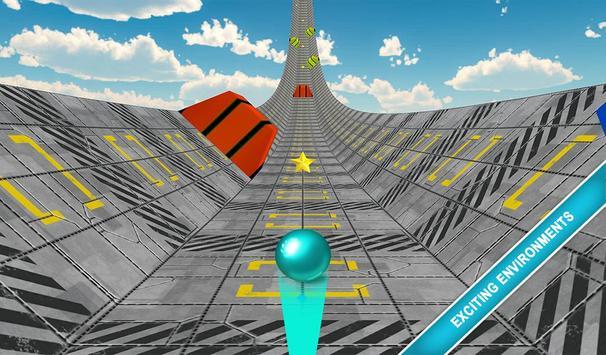 Rolly Sky Ball Vortex Game screenshot 2