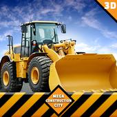 Tunnel Construction Mega City Highway Simulator icon