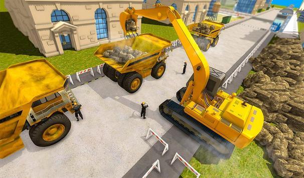 Tunnel Construction Mega City Highway Simulator poster