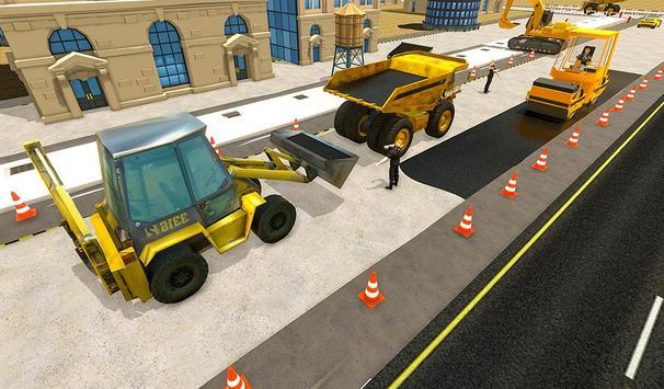 Tunnel Construction Mega City Highway Simulator screenshot 3
