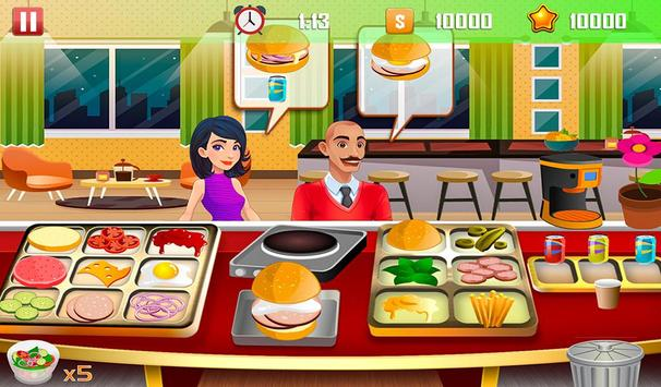 Virtual Chef Cooking Game Restaurant Kitchen Games poster
