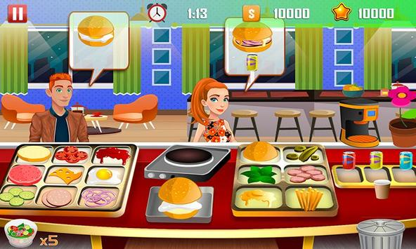 Virtual Chef Cooking Game Restaurant Kitchen Games screenshot 11