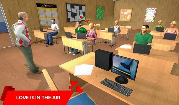 Virtual Girlfriend Crush Love Life Simulator poster