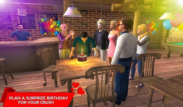 Virtual Girlfriend Crush Love Life Simulator screenshot 1