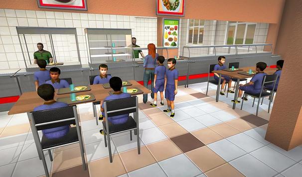 Virtual Mom School Teacher Life Simulator screenshot 1