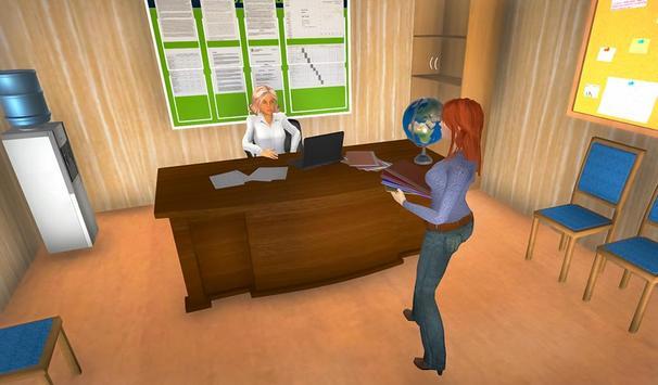 Virtual Mom School Teacher Life Simulator screenshot 2