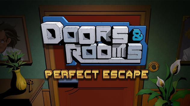 Doors & Rooms: Escape parfaite Affiche