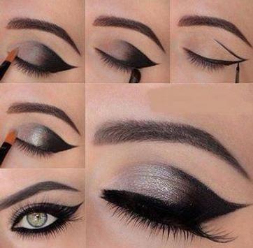 eye makeup tutorial poster
