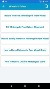 Motorcycle Repair screenshot 3