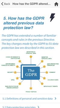 GDPR Guide screenshot 1