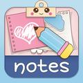 かわいいメモウィジェット: 付箋アプリ