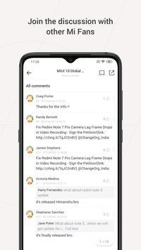 Mi Community screenshot 1