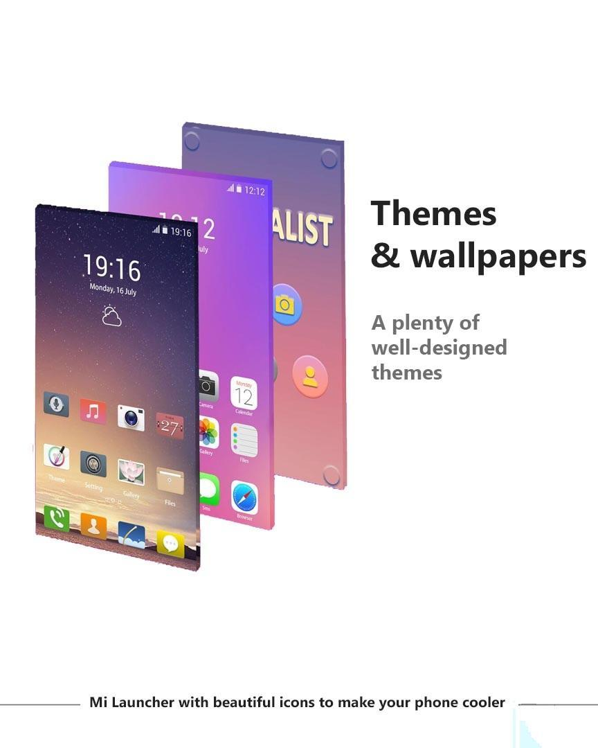 MiUi 10 Launcher – Theme & Launcher for Xiaomi for Android