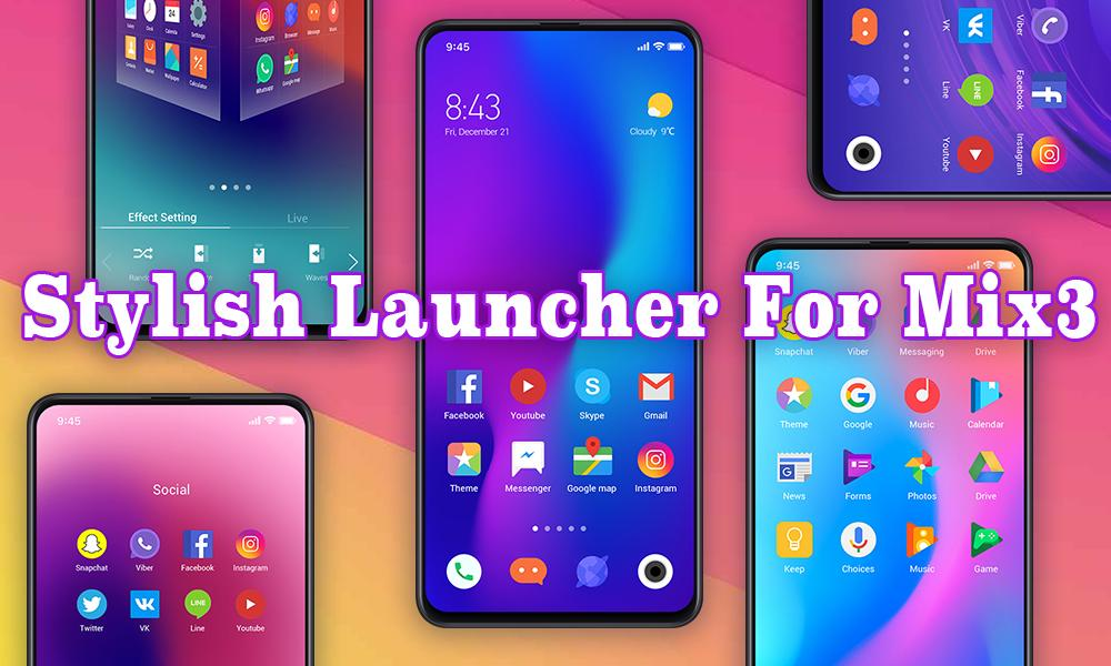 MIX Launcher: Best, Personalized, Mi, 2019 for Android - APK