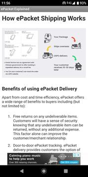 Dropshipping with ePacket Explained screenshot 1