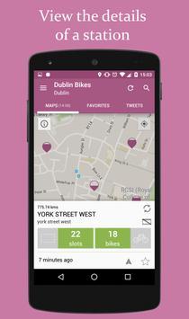 Dublin Bikes Screenshot 2