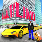 Luxury Limo Taxi Driver City icon