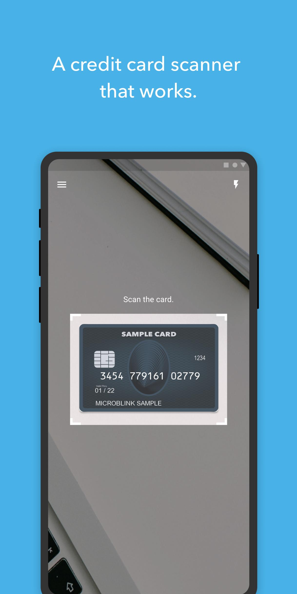 BlinkCard for Android - APK Download