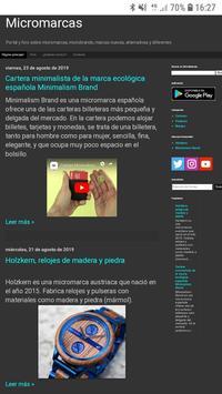 Micromarcas - Microbrands, rebajas, marcas de ropa poster
