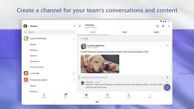 Microsoft Teams स्क्रीनशॉट 13