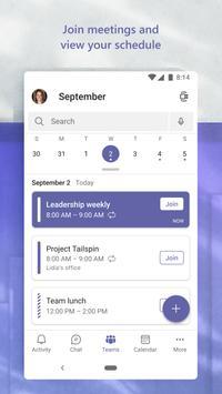 Microsoft Teams स्क्रीनशॉट 6